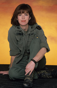 """China Beach""Dana Delany1988 © 1988 Mario Casilli - Image 12329_0016"