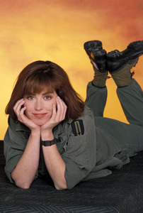 """China Beach""Dana Delany1988 © 1988 Mario Casilli - Image 12329_0017"
