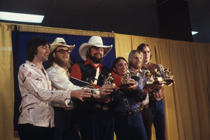 The Charlie Daniels Band at the Grammy Awards1980© 1980 Gunther - Image 12339_0003
