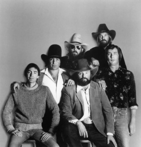 The Charlie Daniels Band ((L to R) James W. Marshall, Joel