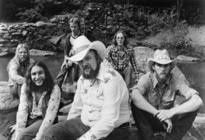 The Charlie Daniels Band ((L to R) Freddie Edwards, Joel