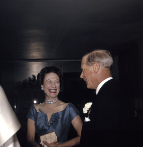 Cobina Wright PartyDuke & Duchess of WindsorC. 1955 © 1978 Wallace Seawell - Image 12358_0006