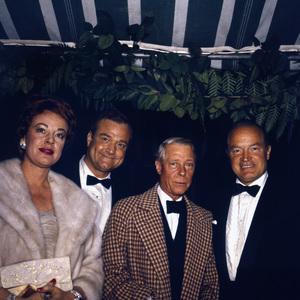 """Cobina Wright Party""Red Skelton, Duke of Windsor, Bob Hopecirca 1955 © 1978 Wallace Seawell - Image 12358_0010"