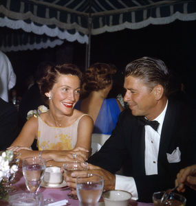 """Cobina Wright Party""Nancy Reagan, Ronald Reagancirca 1955© 1978 Wallace Seawell - Image 12358_0016"