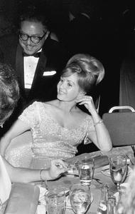 """Academy Awards: 36th Annual,""at Beverly Hilton. 1964.Debbie Reynolds. © 1978 David Sutton - Image 12363_0003"