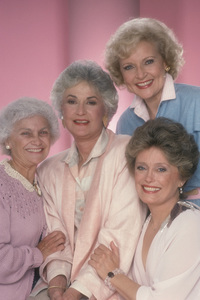"""The Golden Girls""Estelle Getty, Beatrice Arthur, Betty White, Rue McClanahan1985 © 1985 Mario Casilli - Image 12364_0005"