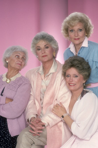 """The Golden Girls""Estelle Getty, Beatrice Arthur, Rue McClanahan, Betty White1985 © 1985 Mario Casilli - Image 12364_0009"