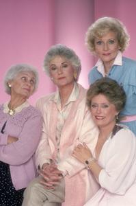 """The Golden Girls""Estelle Getty, Beatrice Arthur, Rue McClanahan, Betty White1985 © 1985 Mario Casilli - Image 12364_0009"