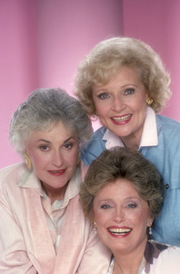 """The Golden Girls""Beatrice Arthur, Rue McClanahan, Betty White1985 © 1985 Mario Casilli - Image 12364_0015"