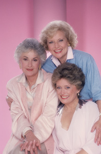 """The Golden Girls"" Beatrice Arthur, Rue McClanahan, Betty White 1985 © 1985 Mario Casilli  - Image 12364_0017"