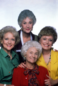 """The Golden Girls"" Betty White, Bea Arthur, Estelle Getty, Rue McClanahan circa 1988 ** I.V. - Image 12364_0049"