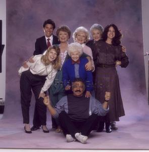 """The Golden Girls"" Estelle Getty, Beatrice Arthur, Rue McClanahan, Betty White, photographer Mario Casilli circa 1985 © 1985 Mario Casilli - Image 12364_0055"
