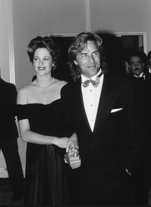 """Golden Globe Awards""Melanie Griffith & Don Johnson © 1989 Gunther - Image 12366_0004"
