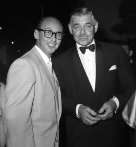 Photographer Bernie Abramson with Clark Gablecirca 1960s © 1978 Bernie Abramson - Image 12367_0002