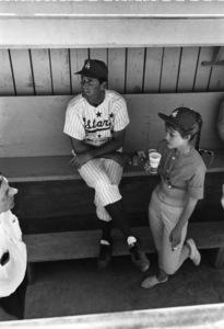 """Hollywood Entertainers Baseball Tour""James Garner1964 © 1978 Bernie Abramson - Image 12371_0001"