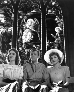 """Since You Went Away"" Jennifer Jones, Robert Walker, Claudette Colbert 1944 Selznick International Pictures © 1978 Ted Allan"