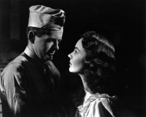 """Since You Went Away"" Robert Walker, Jennifer Jones 1944 Selznick International Pictures © 1978 Ted Allan"