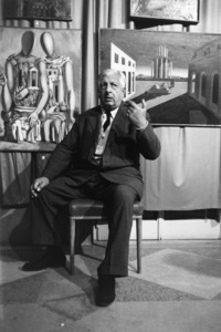 Giorgio de ChiricoVenice circa 1950Photo by Sanford Roth© 1998 Los Angeles County Museum of Art - Image 12404_0003