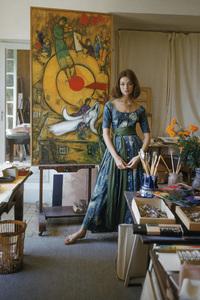 Model Ivy Nicholson in Marc Chagall