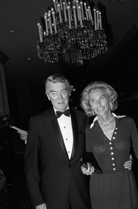 """John Ford Tribute""James Stewart, Gloria Stewartcirca 1976 © 1978 Gunther - Image 12448_0005"