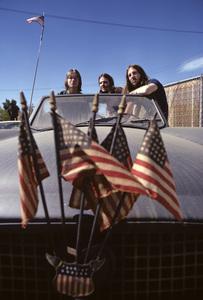 America (Gerry Beckley, Dan Peek, Dewey Bunnell)1972© 1978 Ed Thrasher - Image 12490_0002