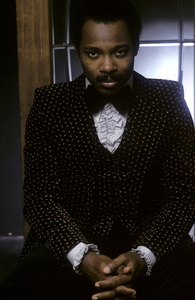 "George Benson during the album cover shoot for ""Breezin"