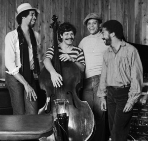Chick Corea, Al Jarreau, Stanley Clarke and Tony Williams live at The Roxy in Los Angeles1977 © 1978 Bobby Holland - Image 12495_0026
