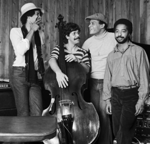 Chick Corea, Al Jarreau, Stanley Clarke and Tony Williams live at The Roxy in Los Angeles1977 © 1978 Bobby Holland - Image 12495_0027