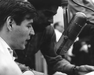 Antonio Carlos Jobim at a recording sessioncirca 1967 © 1978 Ed Thrasher - Image 12496_0004
