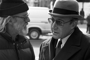 """""""Being There"""" Director Hal Ashby, Peter Sellers 1979 Lorimar © 1979 Ed Thrasher - Image 12514_0019"""