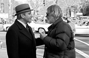 """""""Being There"""" Director Hal Ashby, Peter Sellers 1979 Lorimar © 1979 Ed Thrasher - Image 12514_0021"""