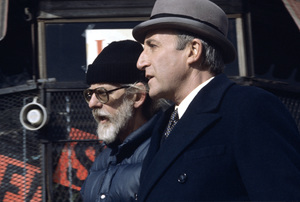 """""""Being There"""" Director Hal Ashby, Peter Sellers 1979 Lorimar © 1979 Ed Thrasher - Image 12514_0022"""