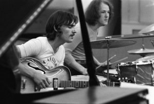 James Taylor rehearsing in New York City1970 © 1978 Gary Legon - Image 12520_0031