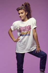 Alyssa Milano1987Photo by Michael O