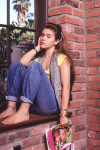 Alyssa MilanoC. 1988Photo by Michael Connors © 1993 Milano Collection - Image 12554_0261