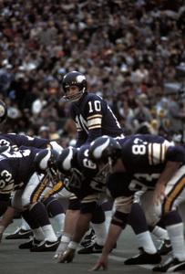 Fran Tarkenton of the Minnesota Vikingscirca 1972 © 1978 Gunther - Image 12558_0002