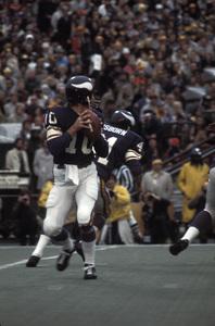 Fran Tarkenton of the Minnesota Vikingscirca 1972 © 1978 Gunther - Image 12558_0003