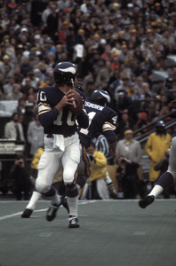 Fran Tarkenton of the Minnesota Vikingscirca 1972 © 1978 Gunther - Image 12558_0003