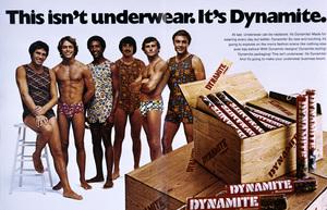 Advertisement (Munsingwear Dynamite Underwear)1973© 1978 Sid Avery - Image 12560_0041
