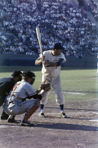 The Los Angeles Dodgers playing at the Los Angeles Memorial Coliseumcirca 1960 © 1978 Bernie Abramson - Image 12577_0014