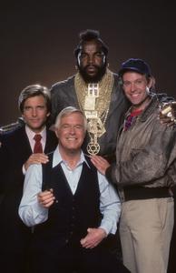 """The A-Team""Dirk Benedict, George Peppard, Mr. T, Dwight Schultz1984 © 1984 Mario Casilli - Image 12608_0020"