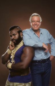 """The A-Team""Mr. T, George Peppard1984 © 1984 Mario Casilli - Image 12608_0021"