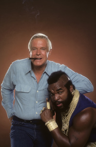 """The A-Team""Mr. T, George Peppard1984 © 1984 Mario Casilli - Image 12608_0022"
