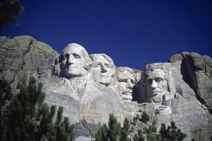 """Landmarks""Mount Rushmore1974 © 1978 Sid Avery - Image 12622_0003"