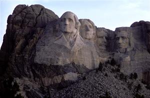 """Landmarks""Mount Rushmore1974 © 1978 Sid Avery - Image 12622_0004"