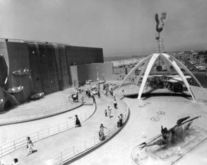 P.O.P. (Pacific Ocean Park)circa 1960 / Santa Monica, CA** M.W. - Image 12622_0010