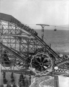 P.O.P. (Pacific Ocean Park)circa 1960 / Santa Monica, CA** M.W. - Image 12622_0016