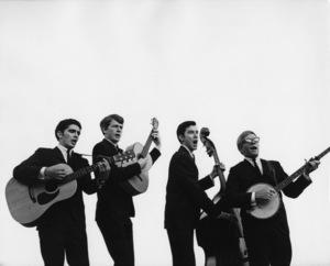 The Modern Folk Quartet (Cyrus Faryar, Henry Diltz, Chip Douglas, Jerry Wester) 1964 © 1978 Ed Thrasher - Image 12630_0002