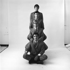 The Modern Folk Quartet (Cyrus Faryar, Henry Diltz, Chip Douglas, Jerry Wester) 1964 © 1978 Ed Thrasher - Image 12630_0004