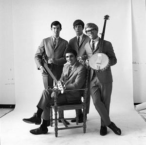 The Modern Folk Quartet (Cyrus Faryar, Henry Diltz, Chip Douglas, Jerry Wester) 1964 © 1978 Ed Thrasher - Image 12630_0102